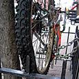Avenida B Bike, close-up