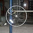 Floating wheel