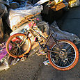 Kid's bicycle on 116th St.