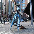 Two Bikes at the Alamo