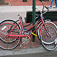Outro par de Bikes Femininos
