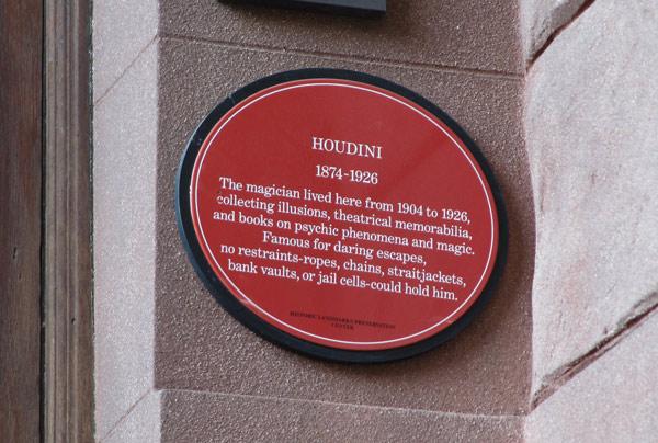 Houdini_plaque