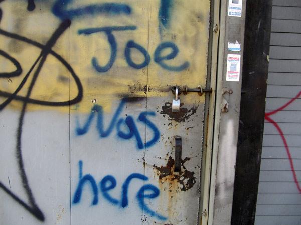 Joewashere