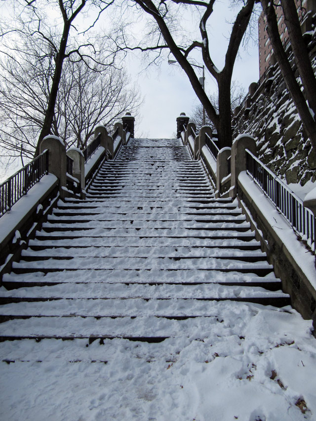 Snowstairs