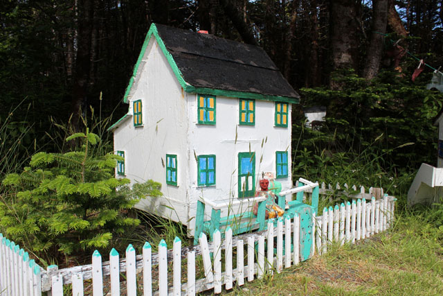 House with a picket fence