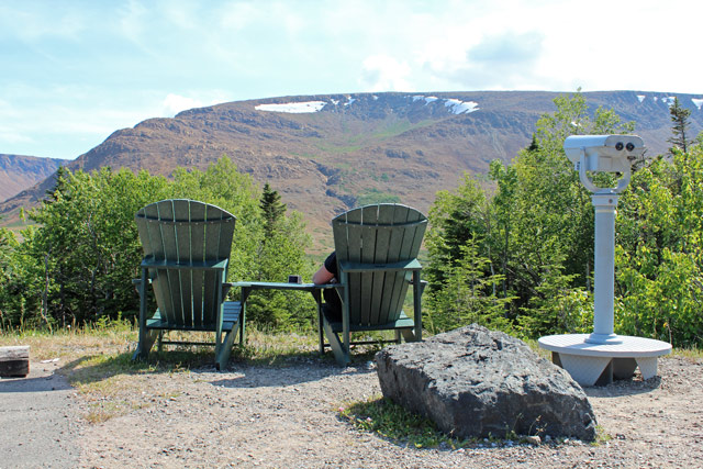 Adirondack Chairs and the Tablelands