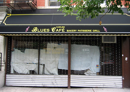 Harlem blues cafe