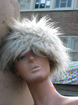 dummy with wig
