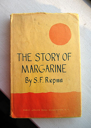 margarine story book cover