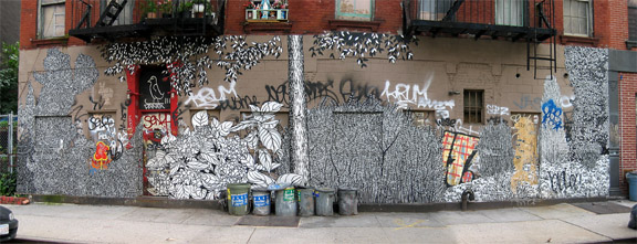 east village tree art