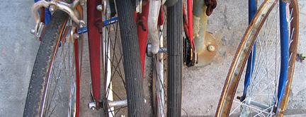 No tire close up