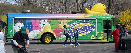 peeps fun bus