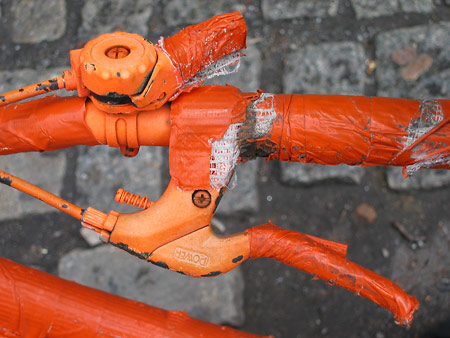 Christo's Bike Detail