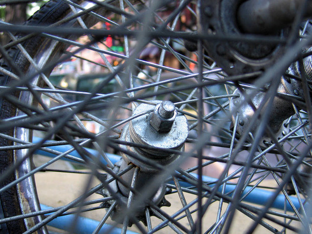 Spokes and Nut