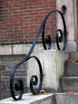 Handrail, Block House