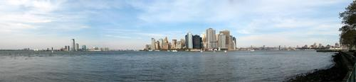 Panoramic view from Governor's Island
