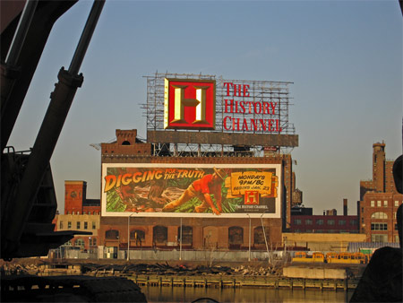 History channel sign