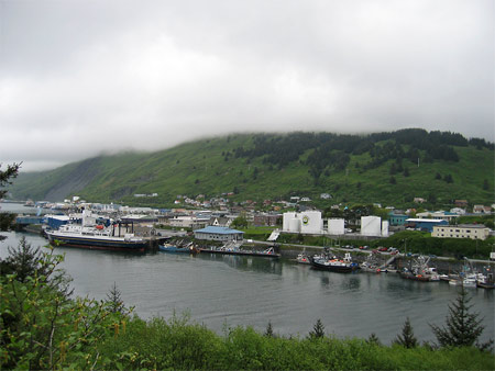 downtown Kodiak