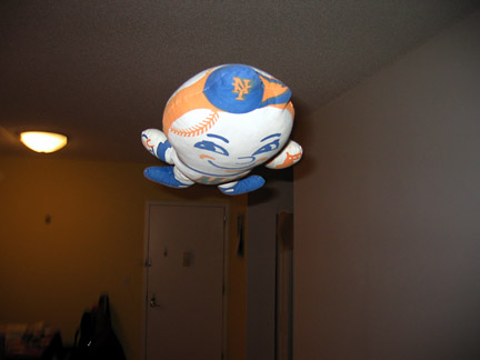 Flying Mr. Met