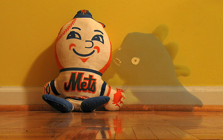 Mr. Met and Imaginary Friend