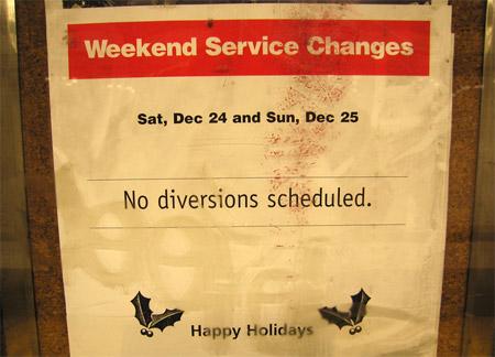 No_diversions