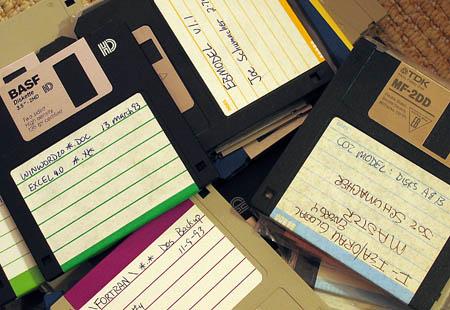 Old disks