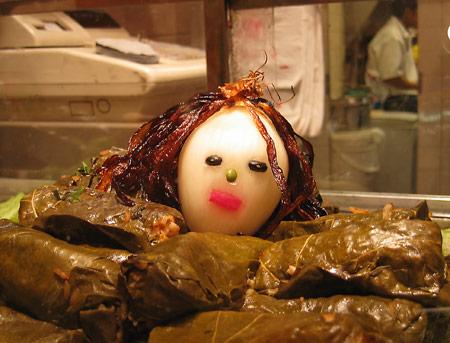 Onion Face