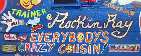 Rockin Ray's van