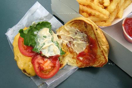 burger detail