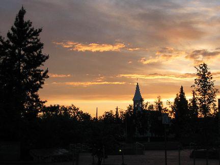 Fairbanks sunset